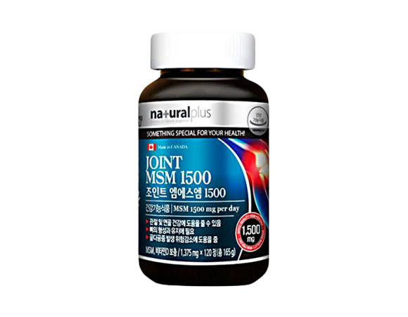 Капсулы Глюкозамина Natural plus Joint MSM 1500